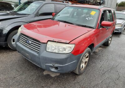 2006 Subaru Forester now dismantling