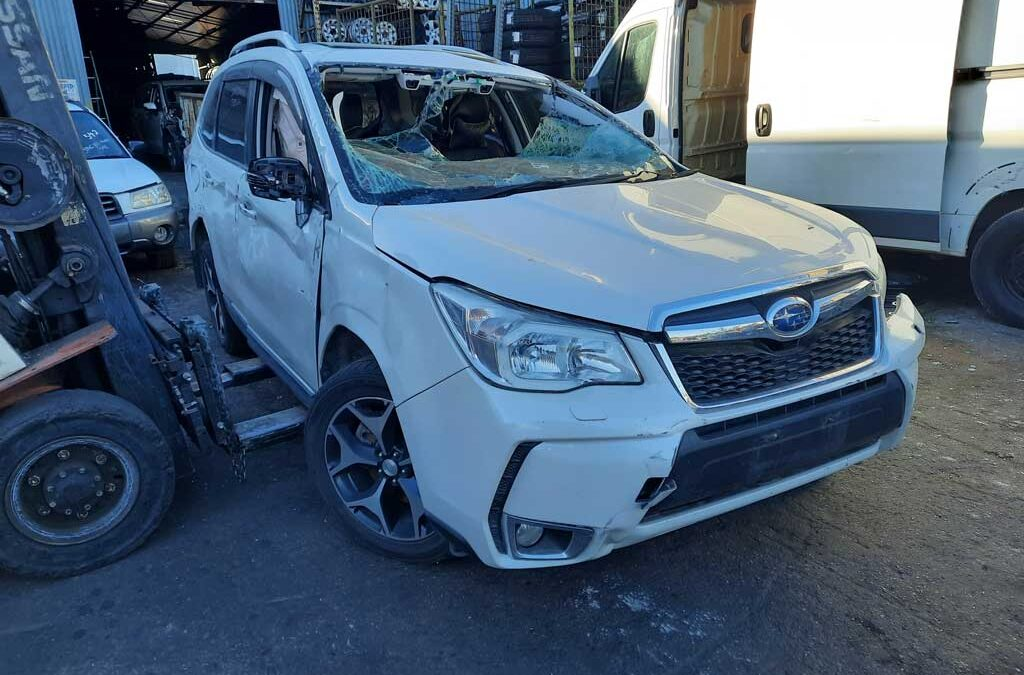 Subaru Forester Now dismantling